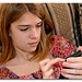 Tween Cell Phone Texting