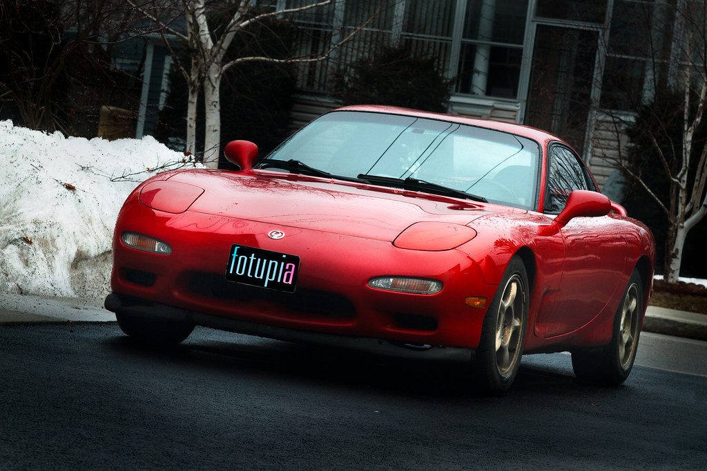 1993 Mazda RX7 R1 | test shot of my 93 mazda rx7 r1 with a ...