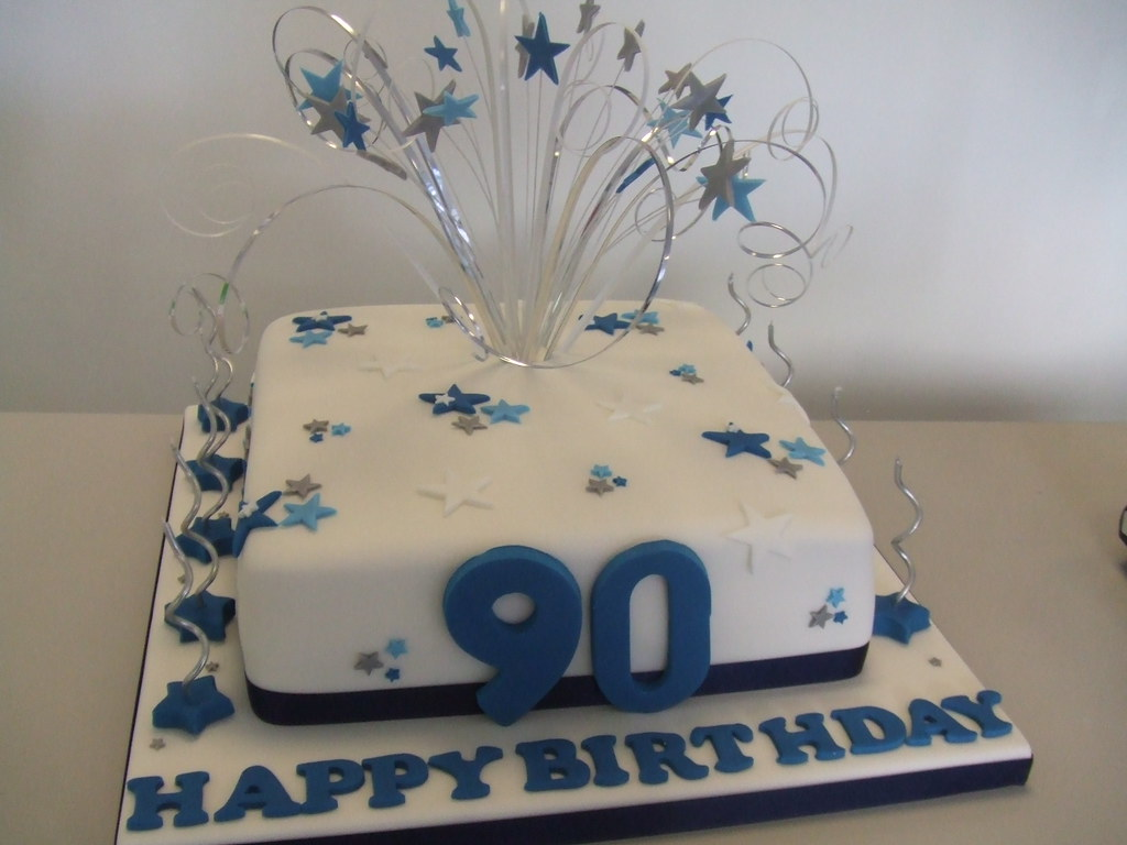 Cake 90th Birthday 6 Inch Sponge Cake 163 38 8 Inch 163