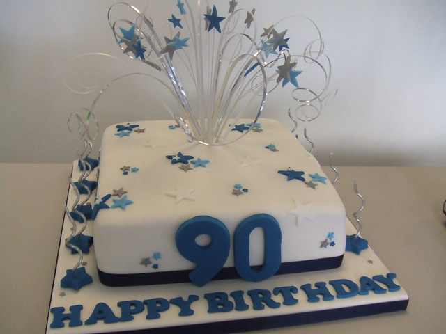 Cake 90th birthday flickr photo sharing for 90th birthday cake decoration ideas