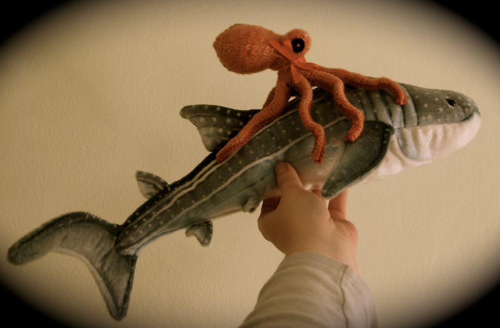 mega shark vs giant octopus coral the octopus riding on