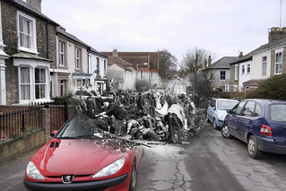Blitz Ghost - Caernarvon Road | by Nick J Stone