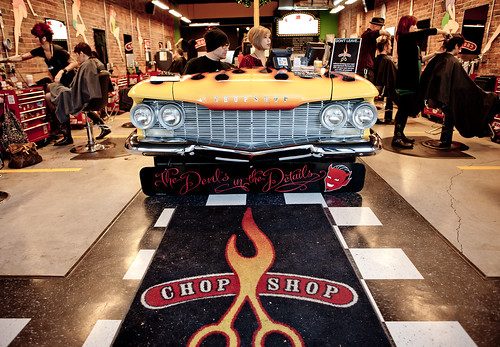 Chop shop vancouver rock n 39 roll hair salon on granville for A salon vancouver