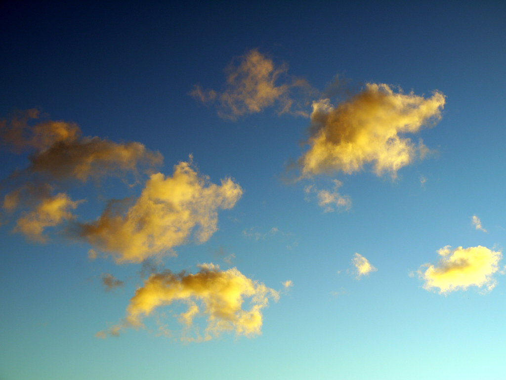 Yellow Clouds, Blue Sky | Yortw | Flickr