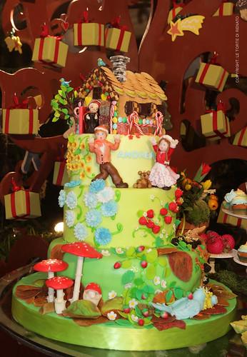 My Cake Design Renato : Cake Design: Hansel e Gretel La torta a tema di Hansel e ...