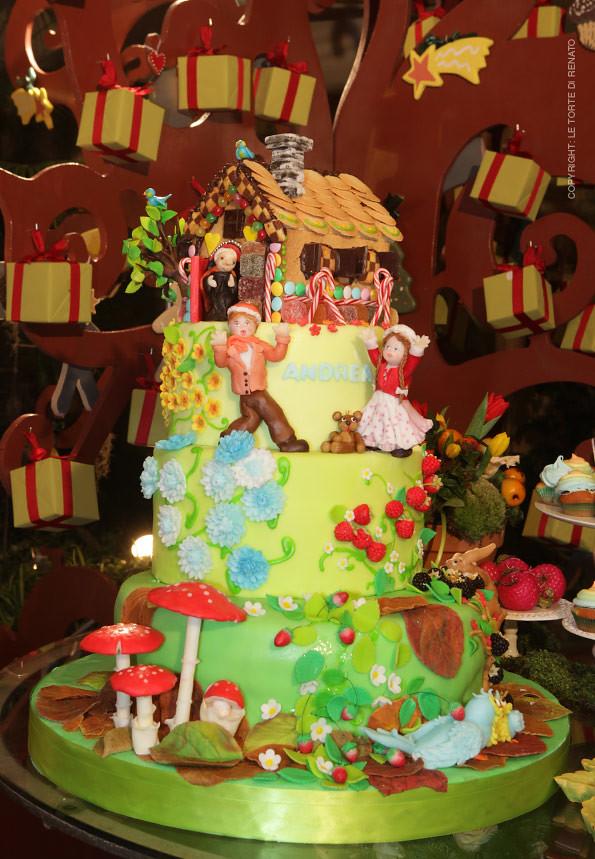 Rivista Cake Design Renato : Cake Design: Hansel e Gretel La torta a tema di Hansel e ...
