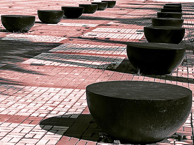 Bancos de concreto flickr photo sharing - Bancos de cemento ...