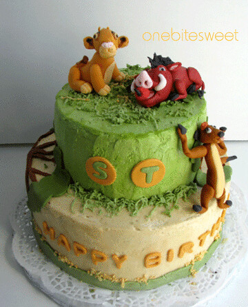 Lion-King cake | I made this cake for my friend's son who lo… | Flickr