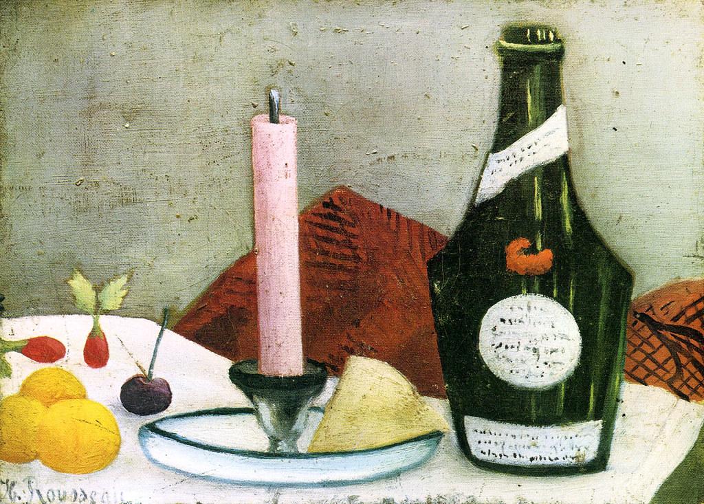 henri rousseau la bougie rose the pink candle 1910 flickr. Black Bedroom Furniture Sets. Home Design Ideas
