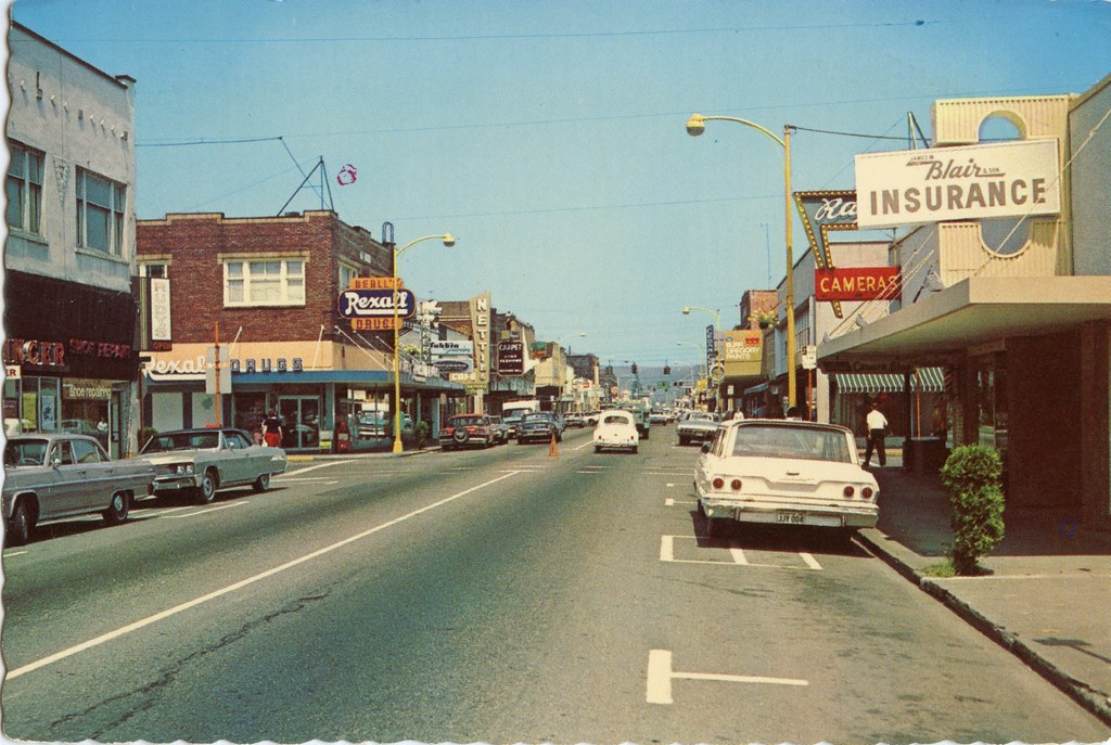 Puyallup, Washington circa 1960s
