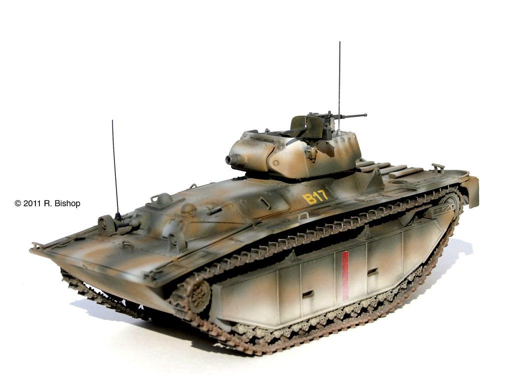 ModelCrafters WWII U.S. Marine Corps LVT(A)4 Amphibious Ta ...
