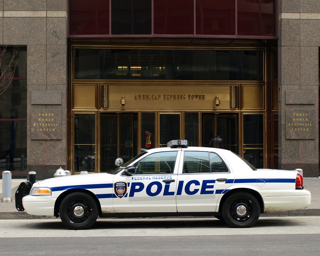 Federal Reserve Police Car, Financial District, New York C…   Flickr