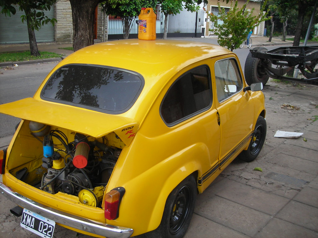 Fiat 600 850 misil custum garage ss fiat 600 preparado for Garage fiat englos horaires