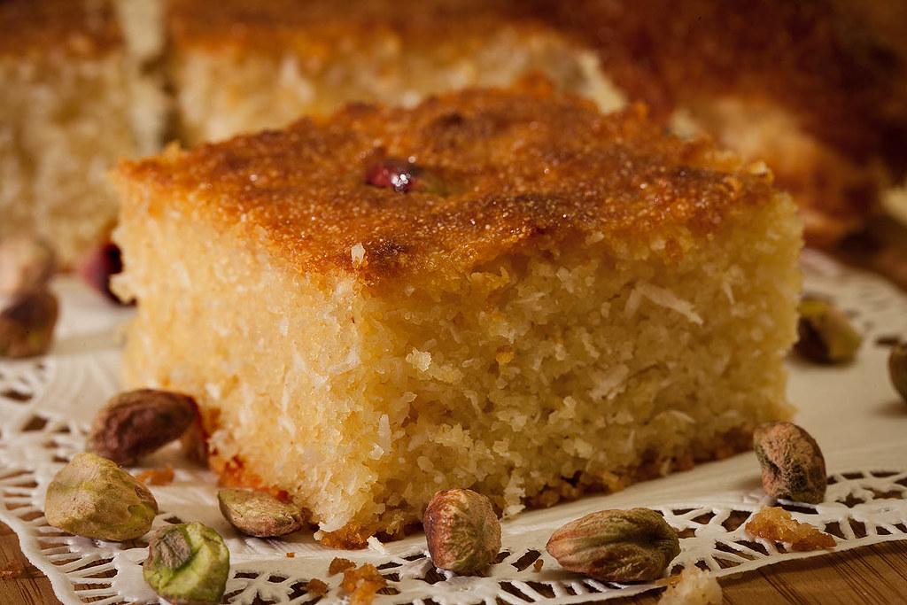 Basboosa, Egyptian Dessert | - 3 cups of semolina - 1 cup ...