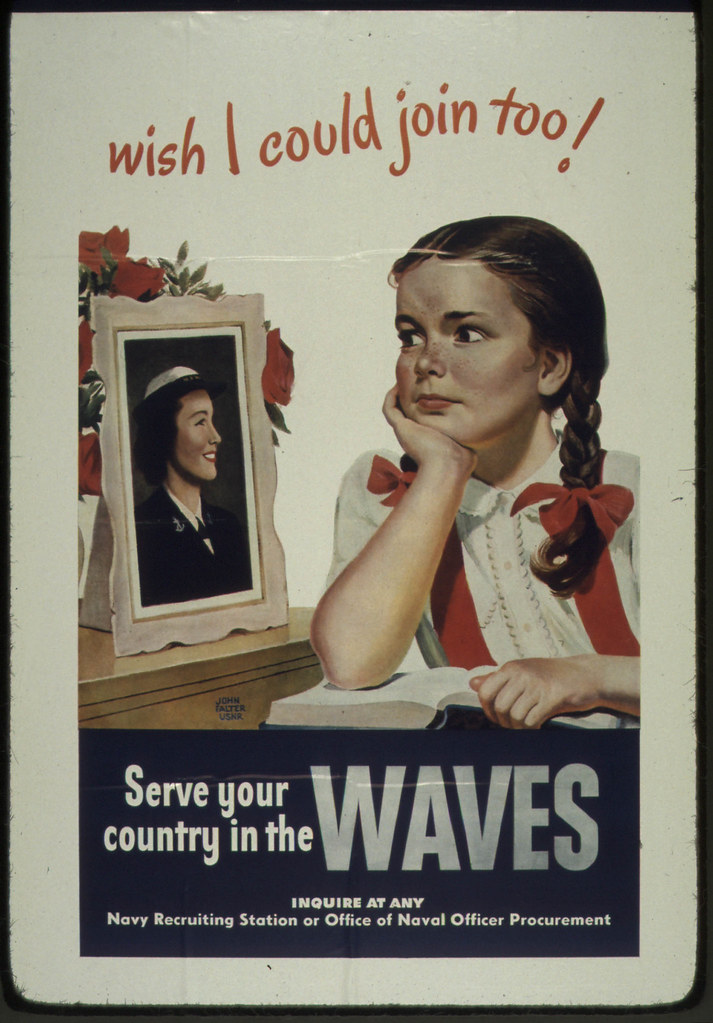 quotwish i could join tooquot waves 1941 1945 original