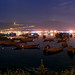 Đêm ở cảng cá