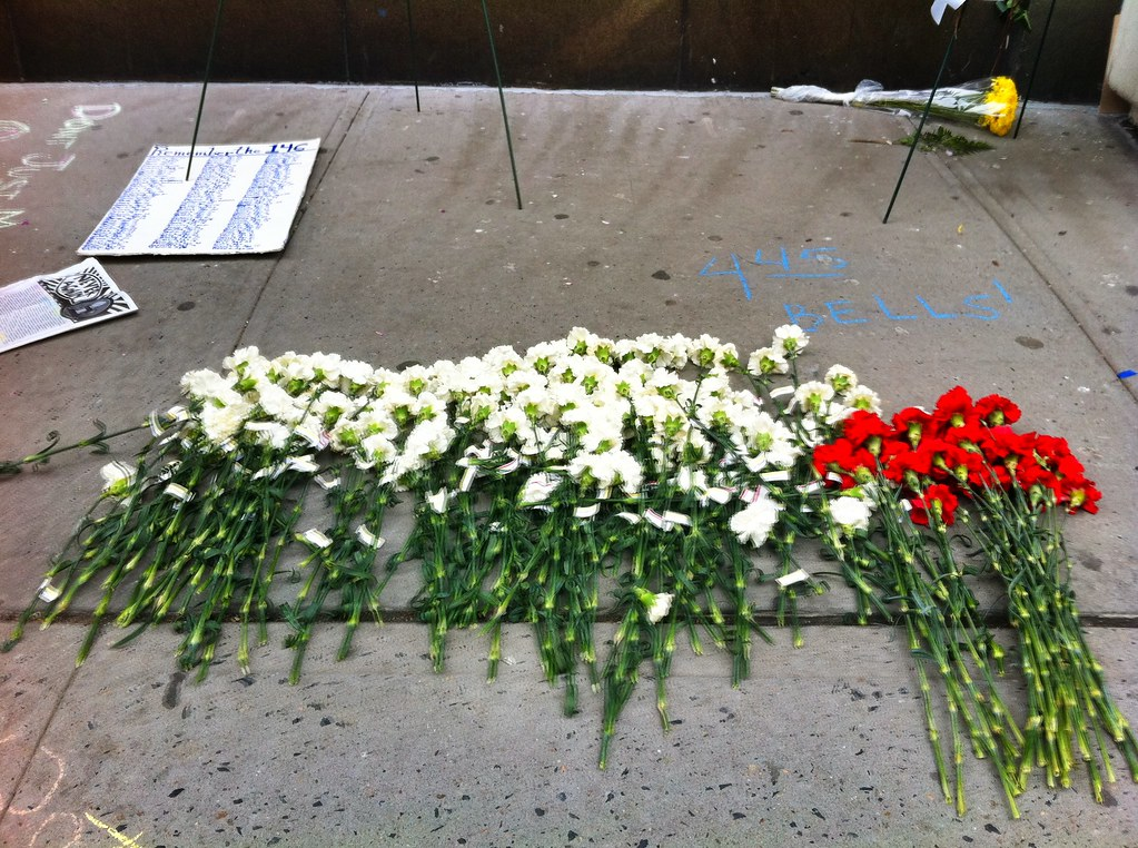Site of the Triangle Fire | the former Asch Building, site ... Triangle Shirtwaist Fire Map