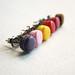 Miniature Macarons - Post Earrings