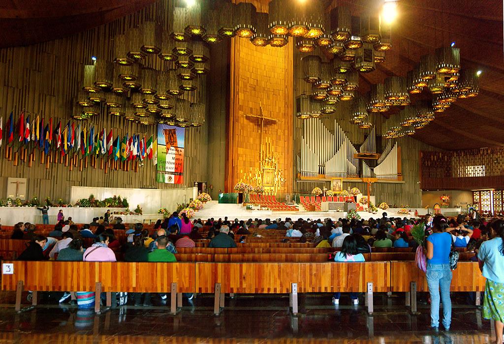 Nueva Basilica de Guadalupe, Mexico | La basilica de ...