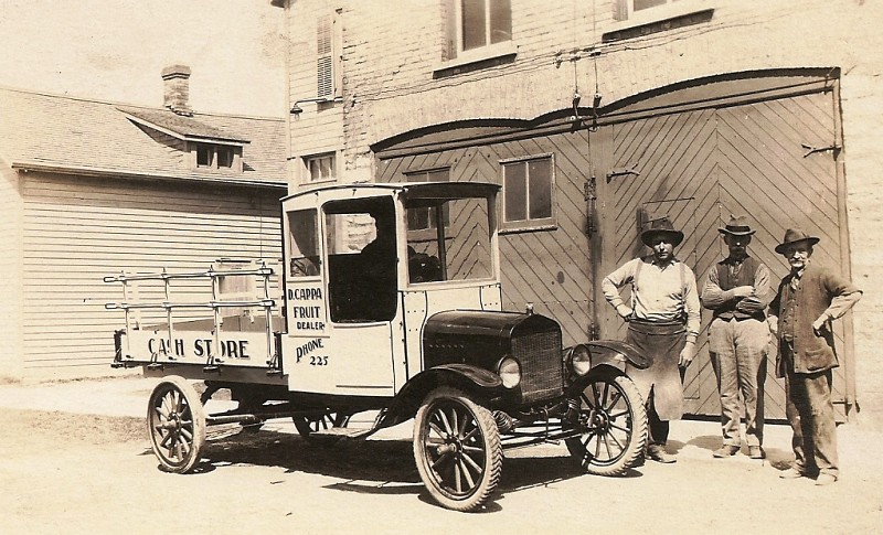 Early 1920 S Ford Model T Delivery Truck Canada Built