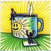 I drew you a really large mug of hot coffee
