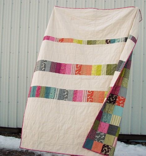 Hope Valley Quilt back | by BlueElephantStitches