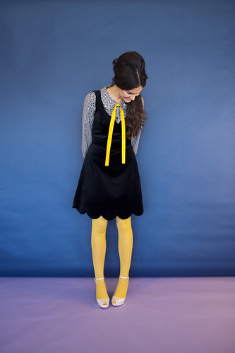 8 breathless pinafore black | by Swonderful boutique