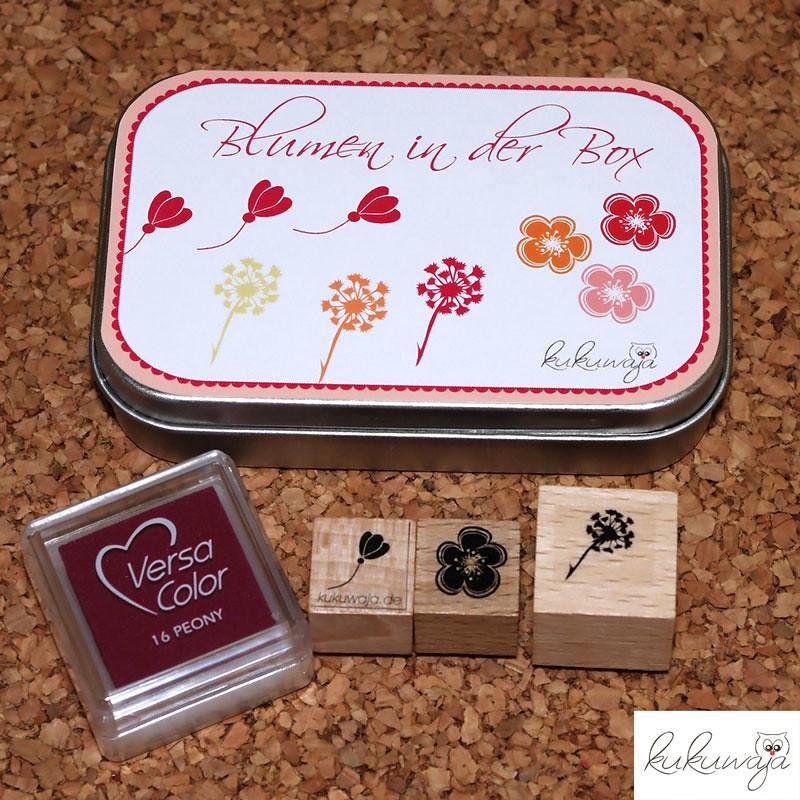blumen in der box geschenkbox stempelset blumen kukuwaja flickr. Black Bedroom Furniture Sets. Home Design Ideas