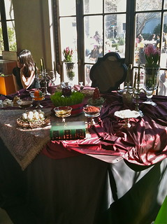 Happy Nowruz!_Haft Sin (traditional table setting) | by catface3