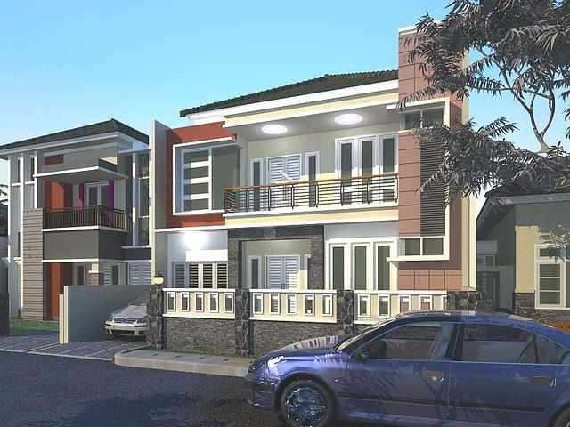 gambar rumah tinggal minimalis, animasi Exterior, Animasi Interior ...