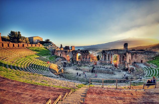 teatro antico taormina flickr photo sharing