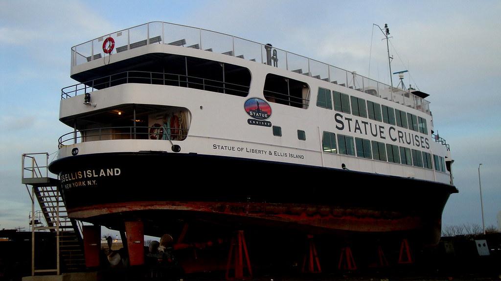 Ferry To Liberty Island Location