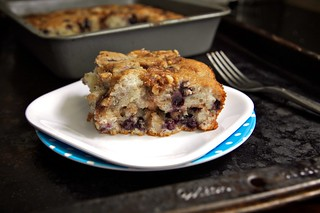 blueberry yogurt coffee cake | by shutterbean