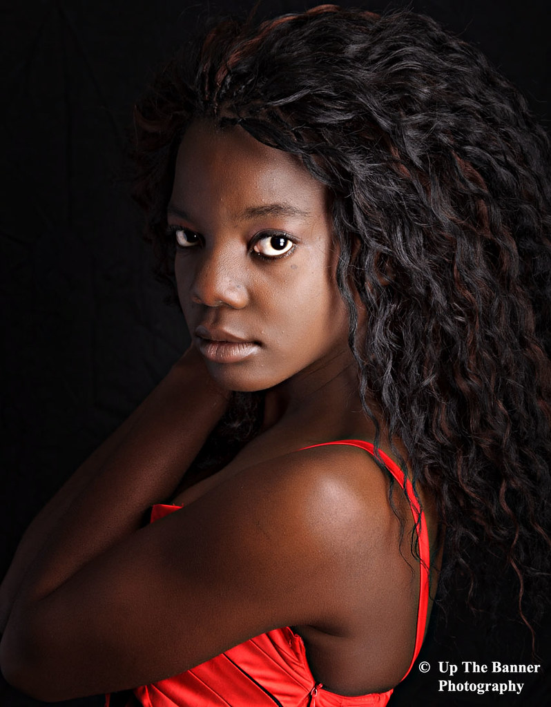African American Black Ebony Female Portrait Photography