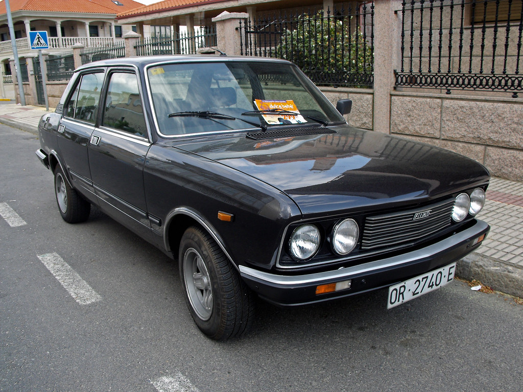 1980 Seat 132 2200 Diesel This Car S Engine Is The 220d