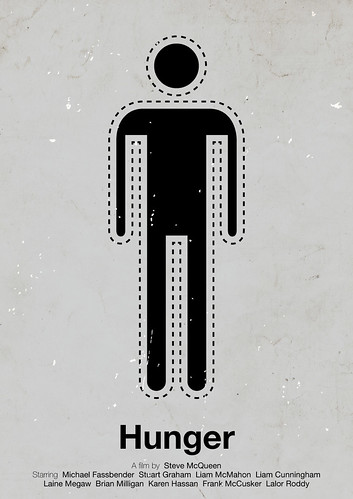 'Hunger' pictogram movie poster | by Viktor Hertz