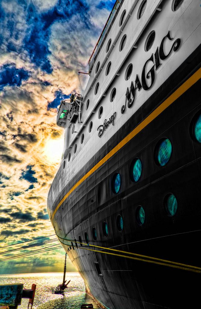 disney cruise line 39 s magic the disney magic docked at cast flickr. Black Bedroom Furniture Sets. Home Design Ideas
