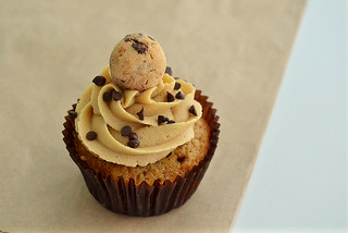 Chocolate Chip Cookie Dough Cupcakes | by jamieanne