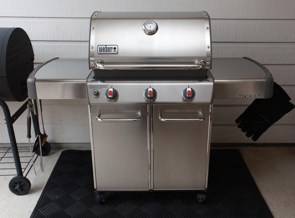 Weber Genesis S 310 >> Weber Genesis S-310 Gas Grill | MWButterfly | Flickr