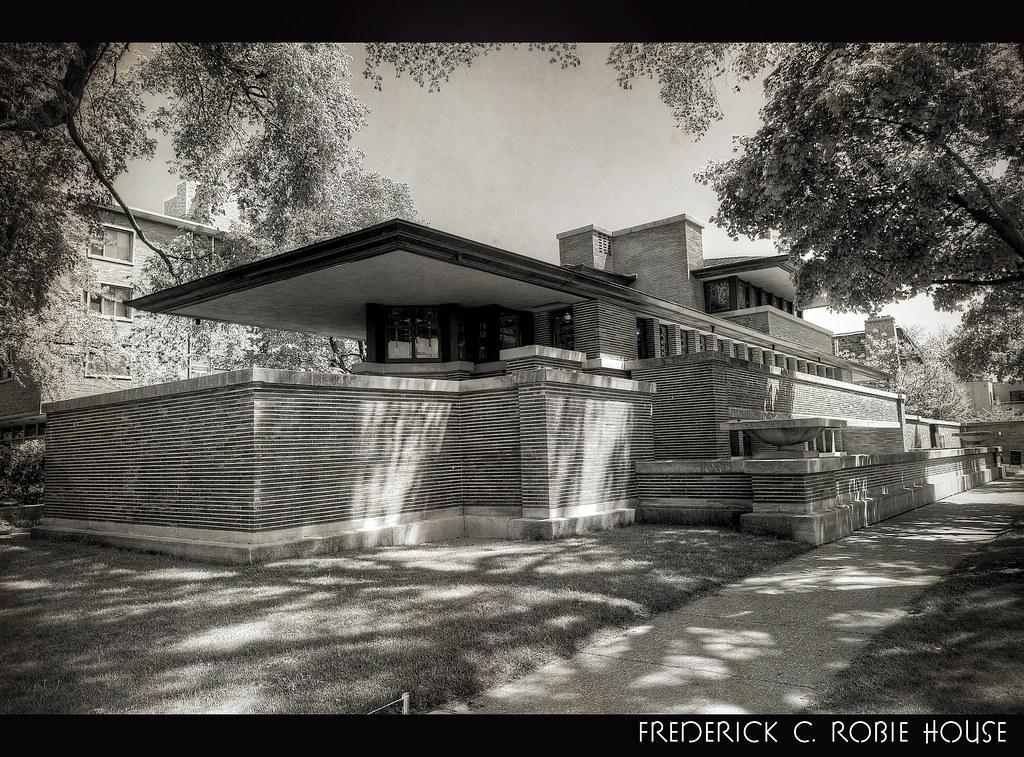 Frederick c robie house chicago illinois frank lloyd for Fredrick house
