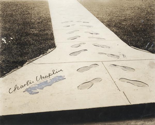 Charlie Chaplin's foot...