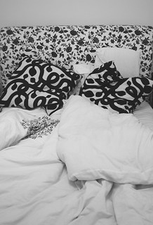 unmade bed | by scarycurlgirl_photos
