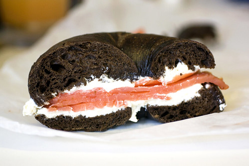 bagel w/ cream cheese & lox @ ess-a-bagel | by bionicgrrrl