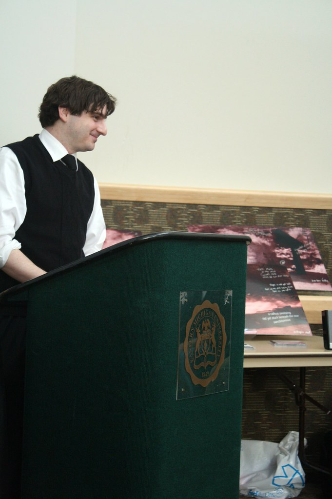 Jesse Eagle presents at Creative Writing Showcase | Flickr - Photo ...