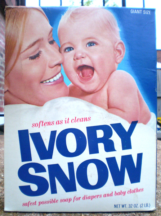 Vintage Ivory Snow Soap Box Marilyn Chambers Gregg