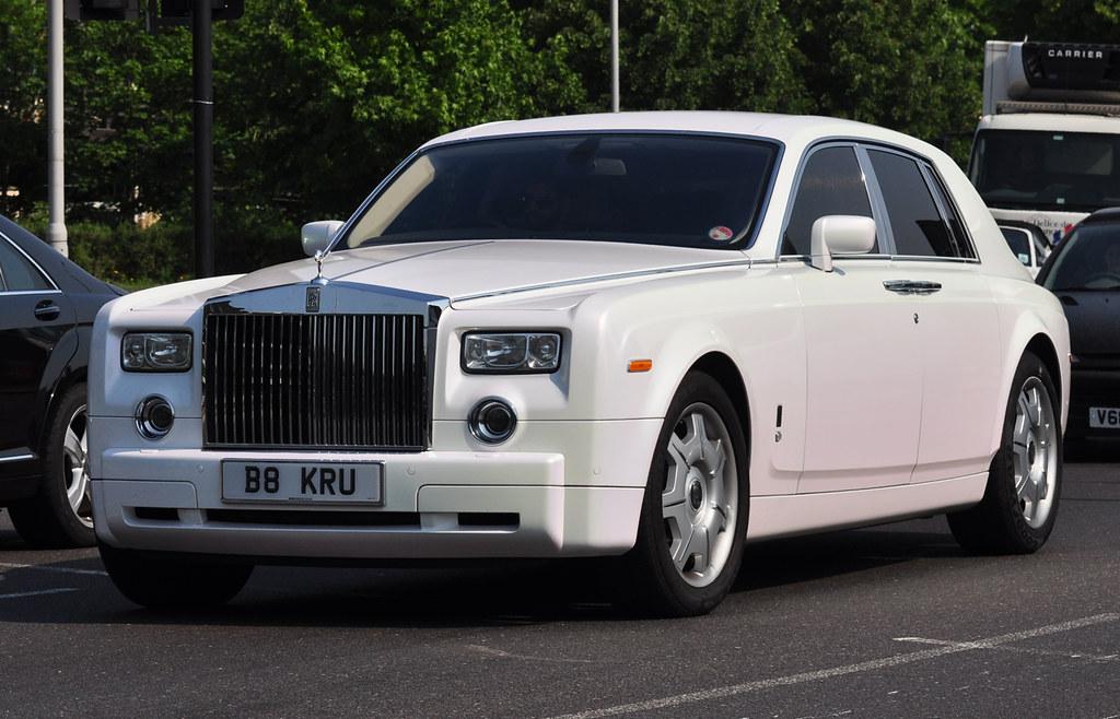 Rolls Royce Phantom | The colour was a pearl white ...