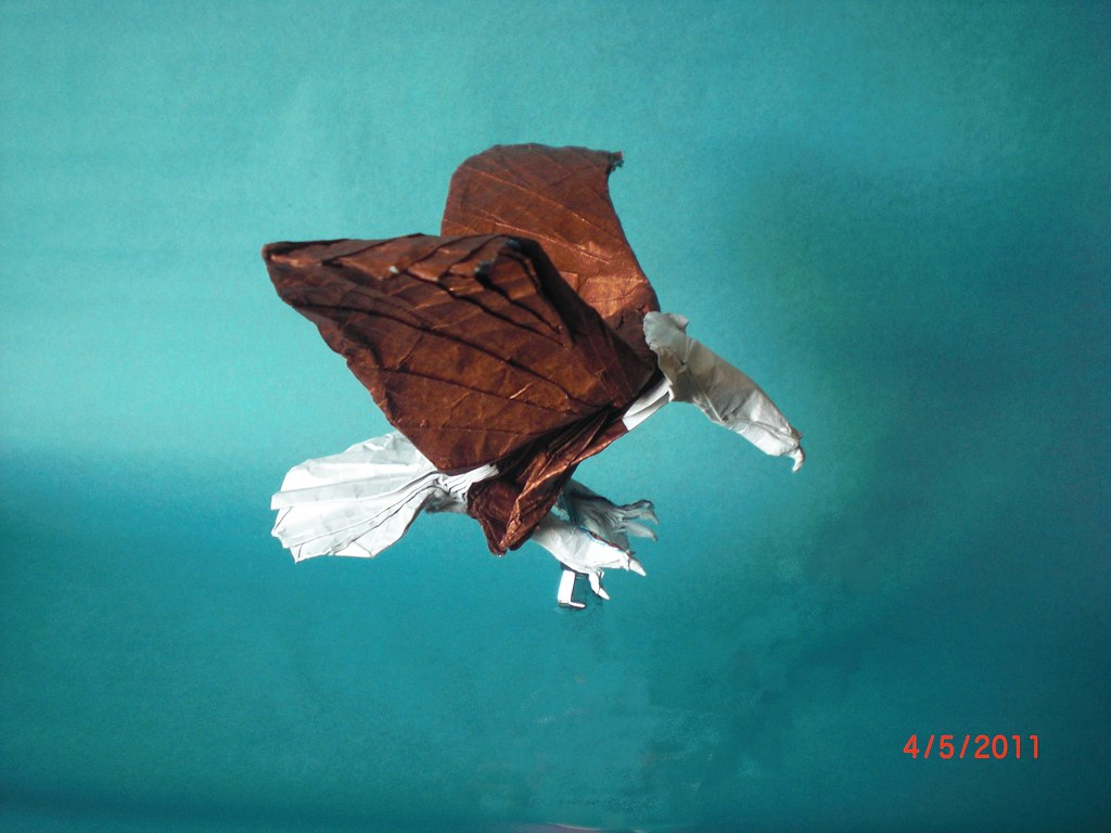 origami bald eagle instructions