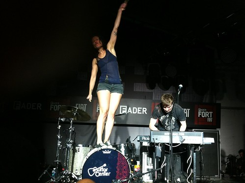 Matt & Kim - Fader Fort - SXSW 2011 | by Jeremy Tanner