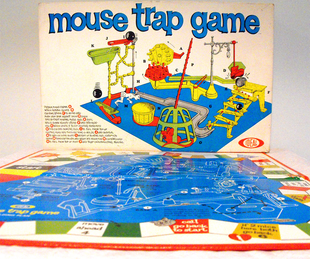 Board Game Traps Board Game Mouse Trap | by