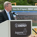 Senator Durbin speaks at the groundbreaking ceremony